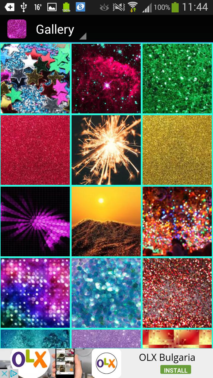 Glitter Wallpaper: Amazon.com.br: Amazon Appstore