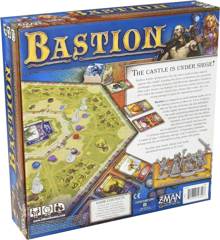 Z Man Spiele zmgzm001 Bastion: Amazon.es: Juguetes y juegos