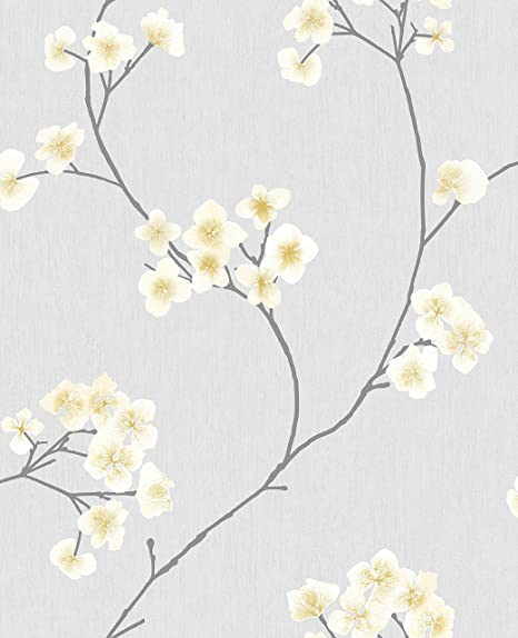 Graham Brown Wallpaper Non Woven Collection Innocence Grey 13 285