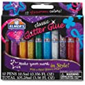 Elmer's 3D Washable Glitter Glue 10-Pcs. Pens