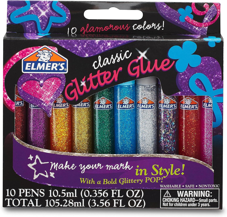 Gold Glitter Glue Pens Glitz-it 3D Multicolours Glitter Glue Pen