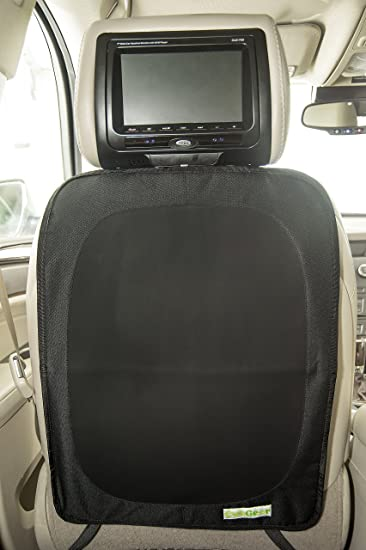 premium car seat back protector kick mat stain and kid proof seat cover