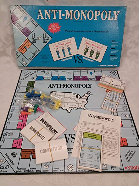 Amazon.com: Anti-Monopoly - The Game of Small Business ...
