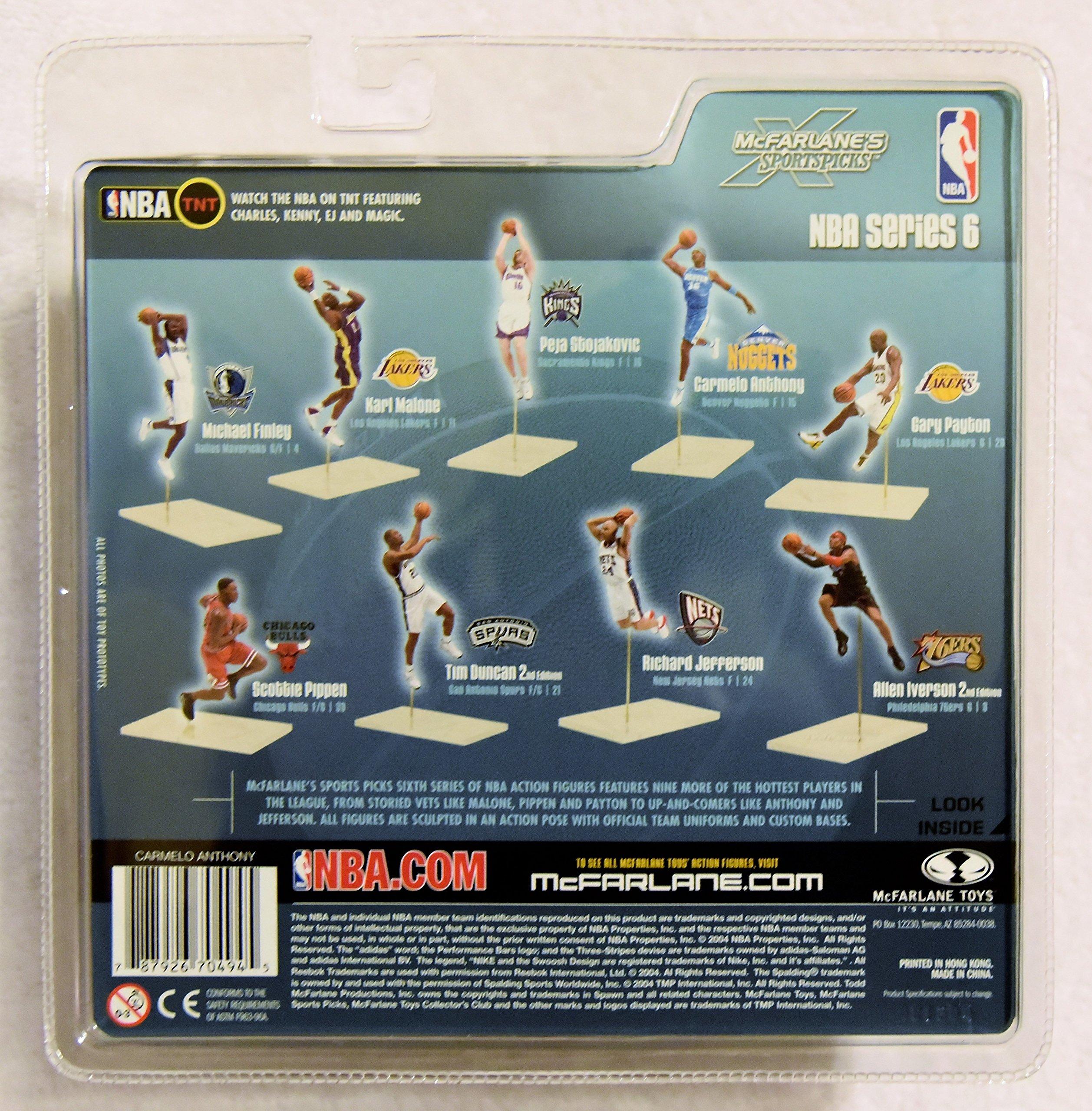 McFARLANE 2004 McFarlane's Sportpicks CARMELO ANTHONY Basketball Series 6