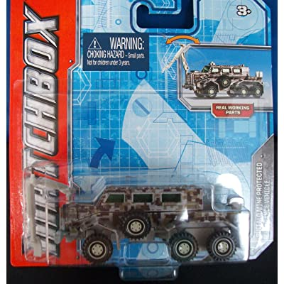 Matchbox Buffalo Mine Protected Clearance Vehicle: Toys & Games