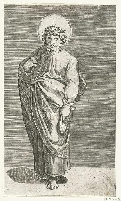 Amazon.com: Classic Art Poster - Apostle Matthew with purse, Marco ...