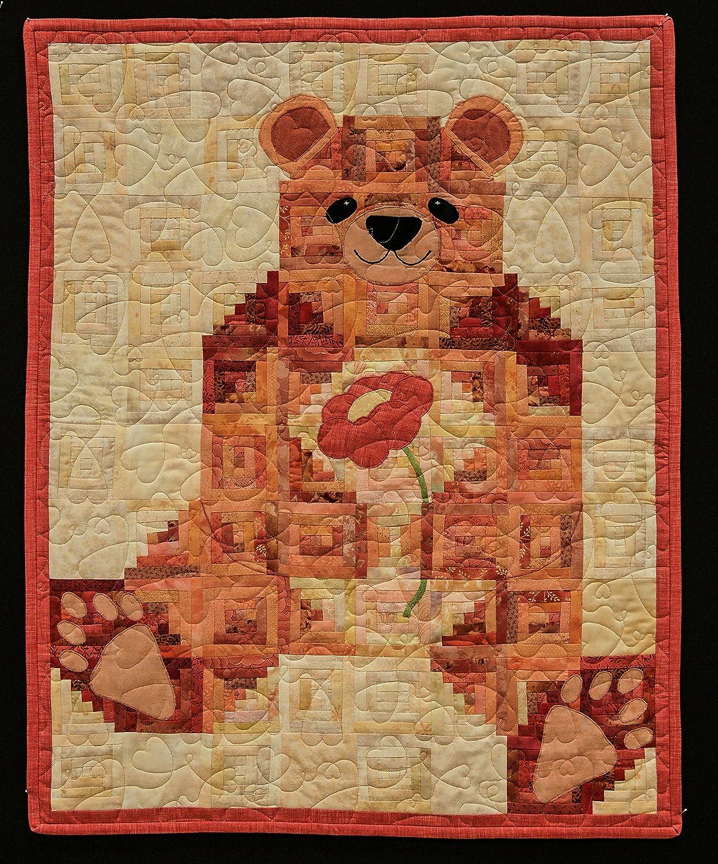 Amazon com: TEDDY BEAR QUILT: Handmade