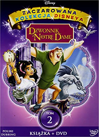 Dzwonnik Z Notre Dame Disney Booklet Dvd English Audio English Subtitles Amazon Co Uk Jason Alexander Tom Hulce Mary Kay Bergman Demi Moore Corey Burton Jim Cummings Bill Fagerbakke Tony Jay Paul Kandel Charles