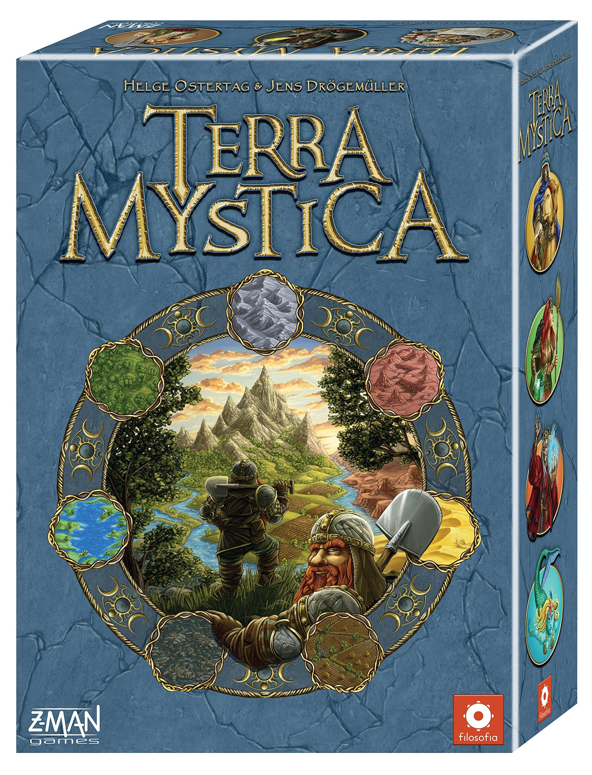 Terra Mystica Board Game by Z-Man Games