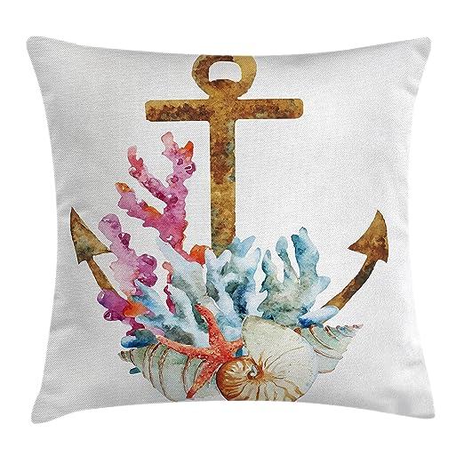 Anchor manta almohada Funda de cojín por Ambesonne, Anchor ...