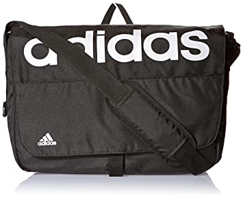 adidas Linear Performance Messenger Bolso, Unisex Adulto, Negro/Blanco, NS: Amazon.es: Deportes y aire libre