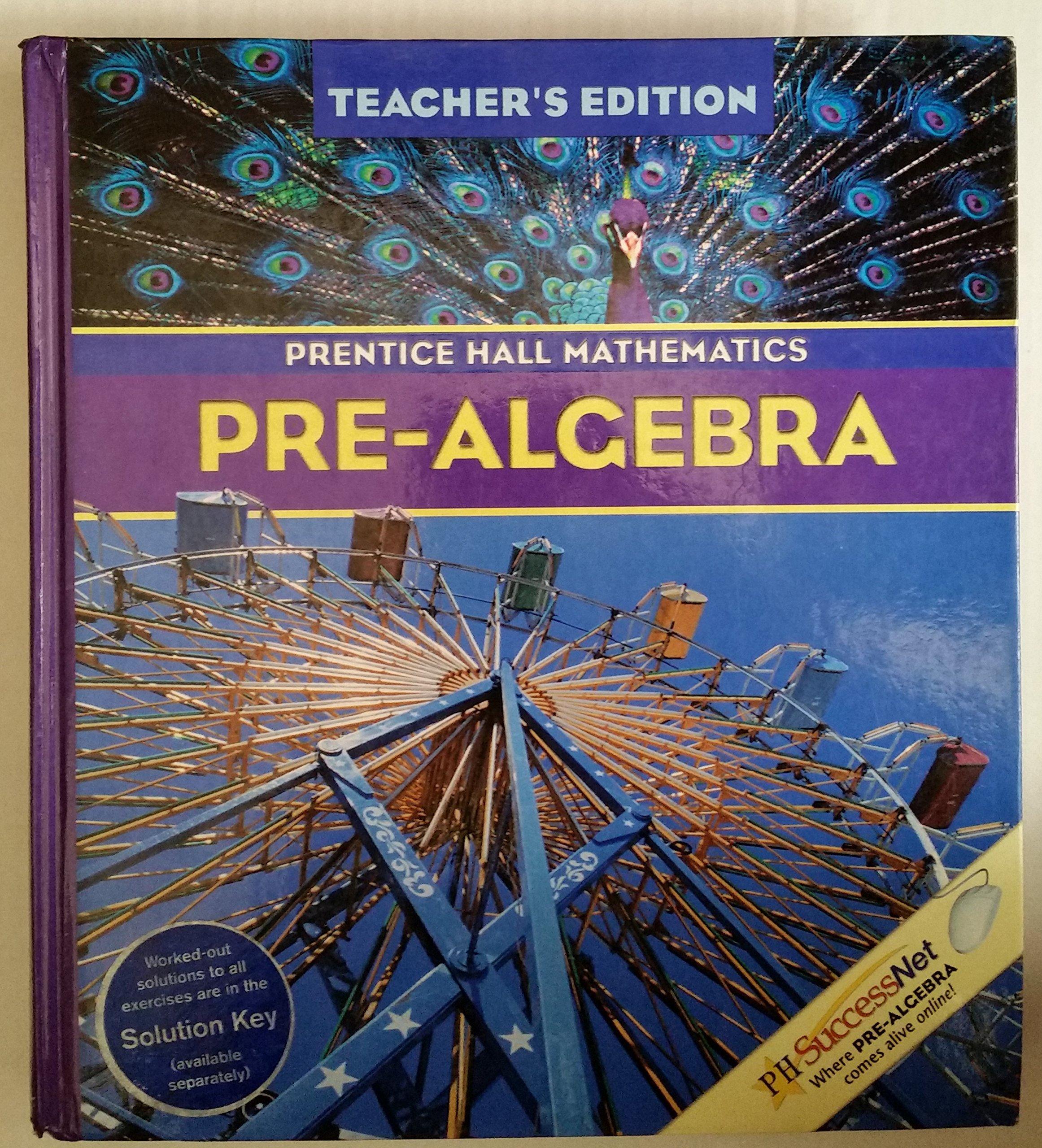 Prentice Hall Mathematics: Pre-Algebra, Teacher's Edition PDF