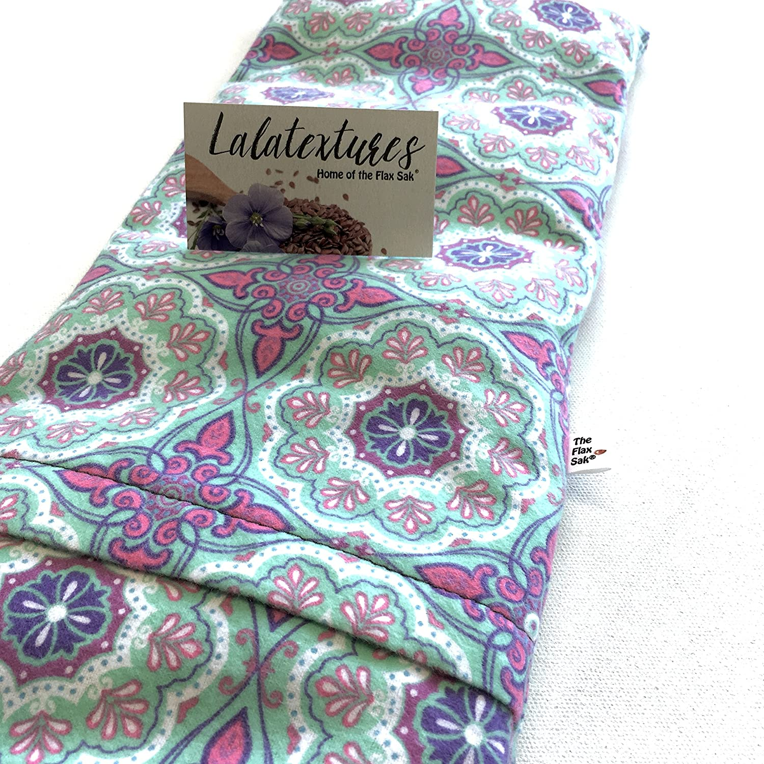 or XX Large microwavable heating pad X large Large TheFlax Sak Hot//cold pack with removable//washable cover.