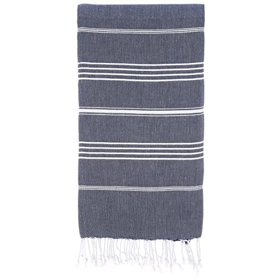 The Cacala 100% Cotton Pestemal Turkish Bath Towel travel product recommended by Renee Reeves on Lifney.