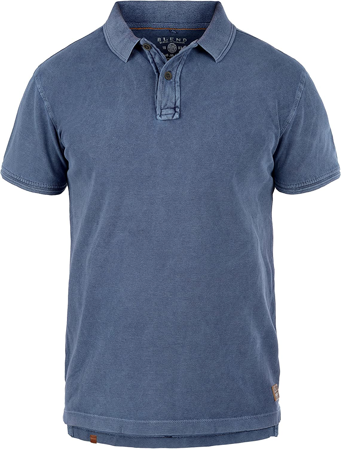 BLEND Camp - camiseta Polo para hombre, tamaño:XXL;color:Navy ...