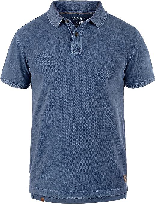 BLEND Camp - Camiseta Polo para Hombre, tamaño:XXL, Color:Navy (70230): Amazon.es: Ropa y accesorios