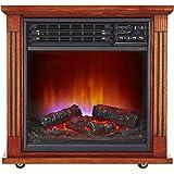 Haier 5,100 Btu Infrared Electric Fireplace Heater