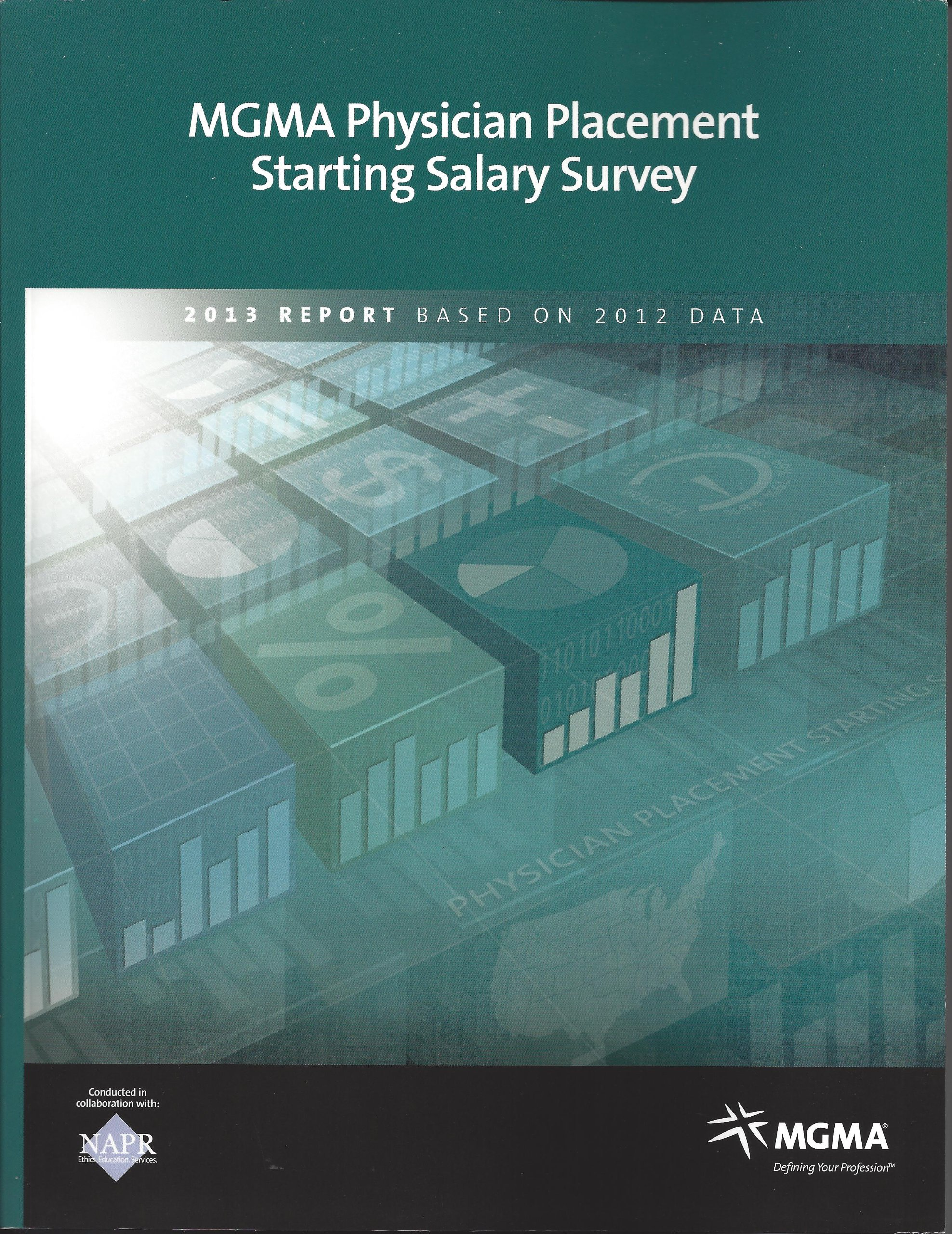 MGMA Physician Placement Starting Salary Survey: 2013 Report Based