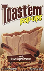 Toast'em Pastry Tart, Frosted Brown Sugar Cinnamon, 11 Ounce