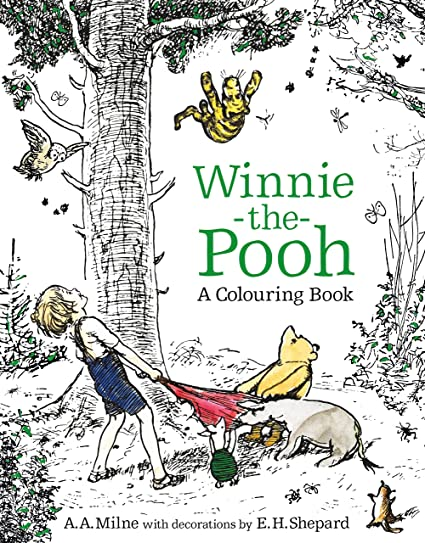 Amazon Com Winnie The Pooh A Colouring Book Electronics