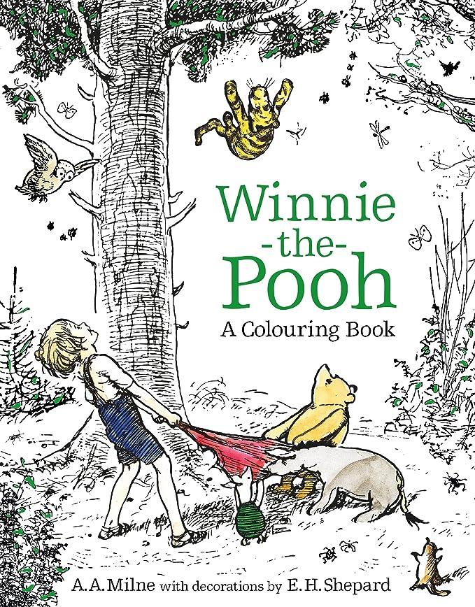 Amazon.com: Winnie-the-Pooh: A Colouring Book: Electronics