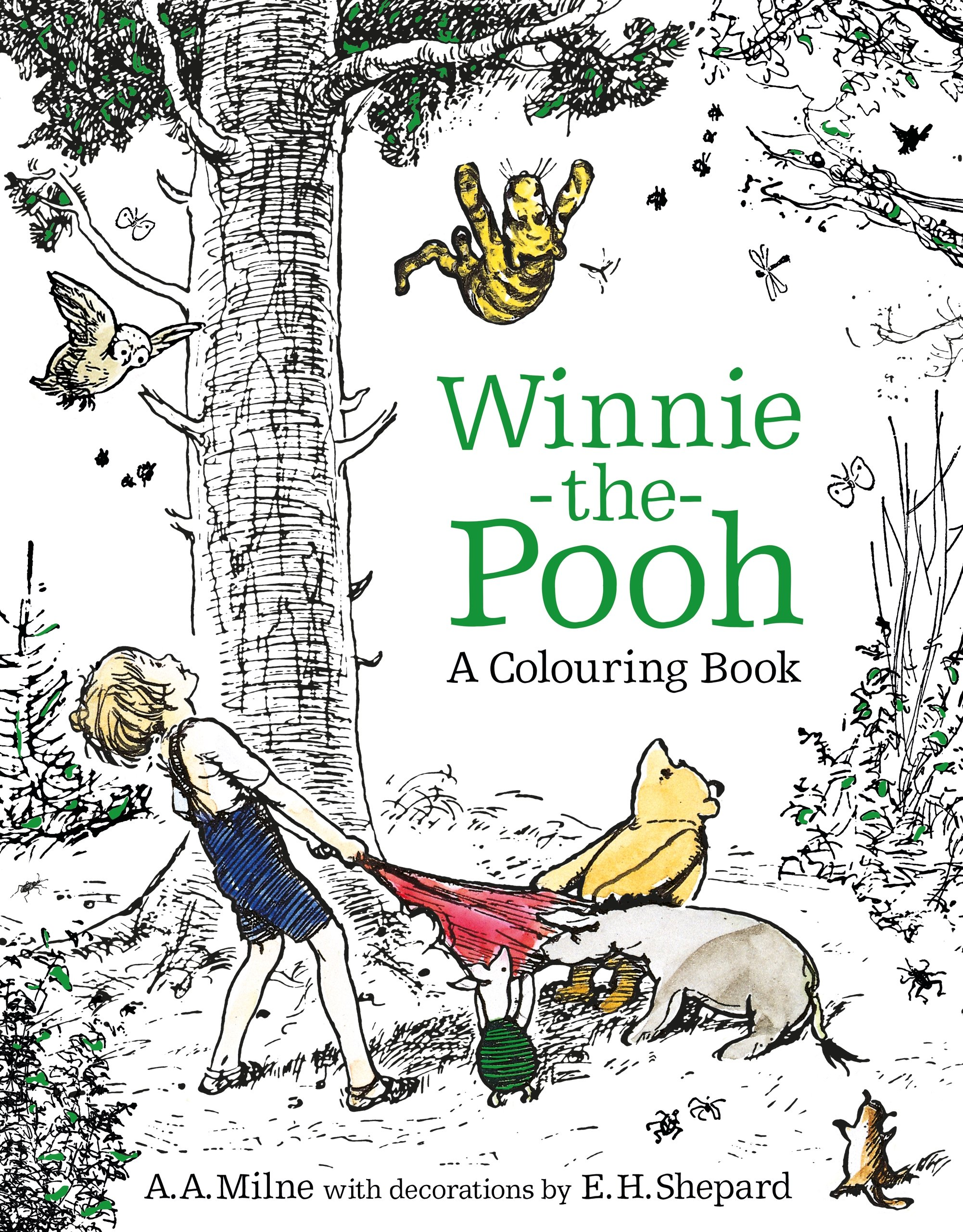 Winnie The Pooh A Colouring Book Egmont Publishing UK Milne E H Shepard 9781405286107 Amazon Books