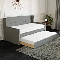 Rest Rite Callisto Wingback Upholstered Twin Daybed
