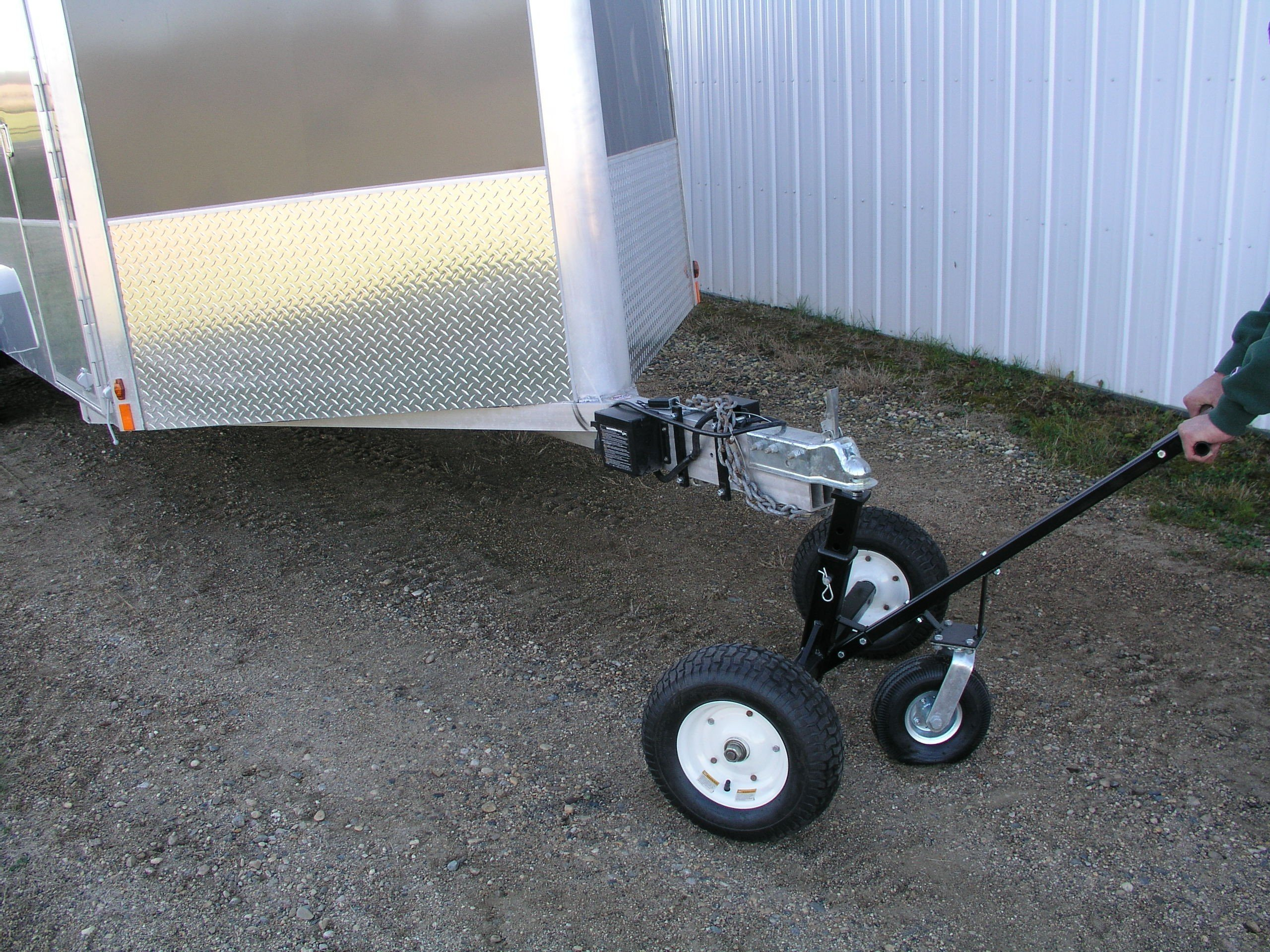 Tow Tuff HD Dolly Adjustable Trailer Moves with Caster by Tow Tuff (Image #3)