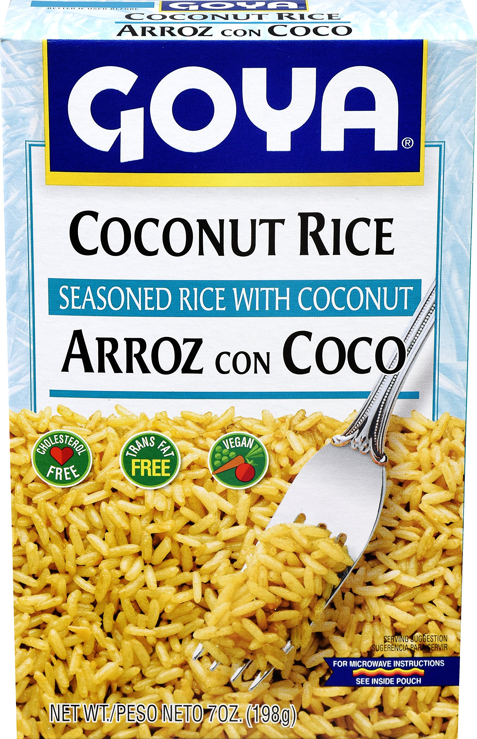 Goya Foods Coconut Rice, 7 Ounce (Pack of 12) by Goya