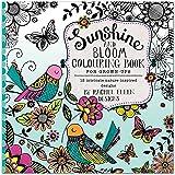 Rachel Ellen Design Rachel Ellen Libro da colorare per Adulti–Sunshine & Bloom by