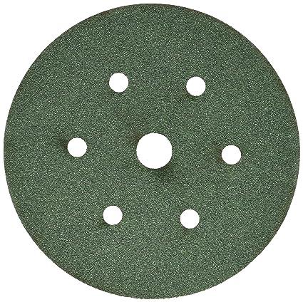 Amazon.com: 3M 522 Green Corps Hookit Regalite - Disco de ...