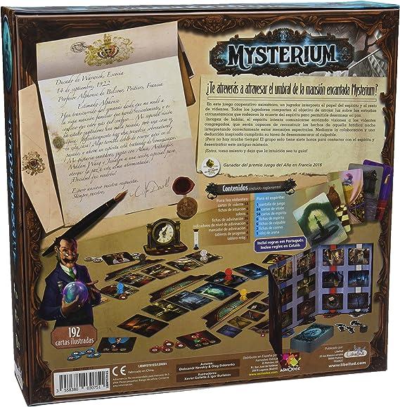Libellud-Asmodee-Mysterium Español-Contacta con el más allá y desvela los Secretos MYS01ES: Amazon.es: Juguetes y juegos