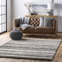 Deals on NuLOOM Classie Hand Tufted Shag Area Rug, 6-ft Round