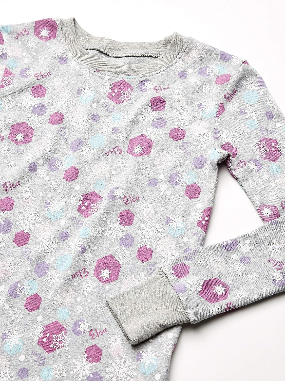 Spotted Zebra Girls Frozen 3-Piece Snug-fit Cotton Pajama Set