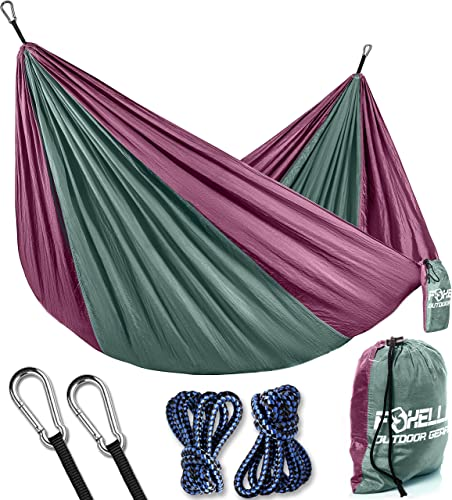 Foxelli Lightweight Parachute Camping Hammock