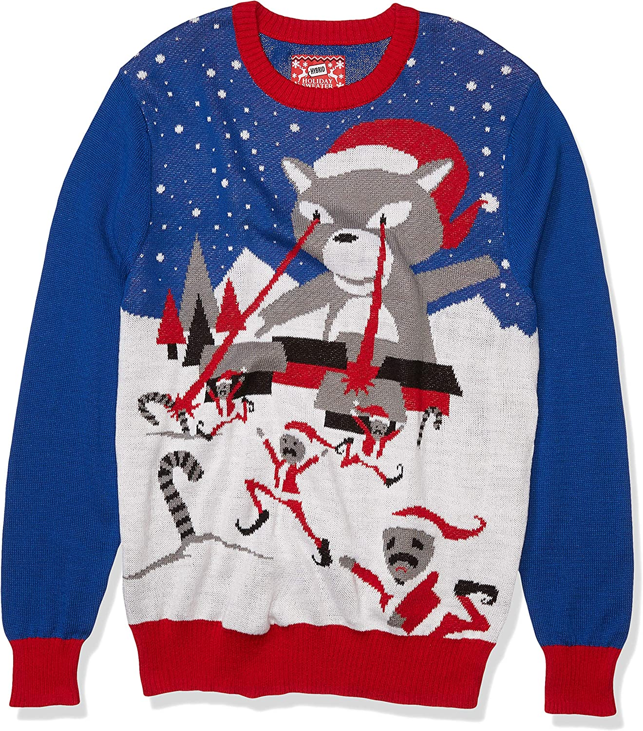 Hybrid Apparel Men's Ugly Christmas Sweater
