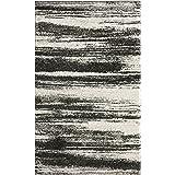 Safavieh Retro Collection RET2693-8479 Modern Abstract Dark Grey and Light Grey Area Rug (5' x 8')