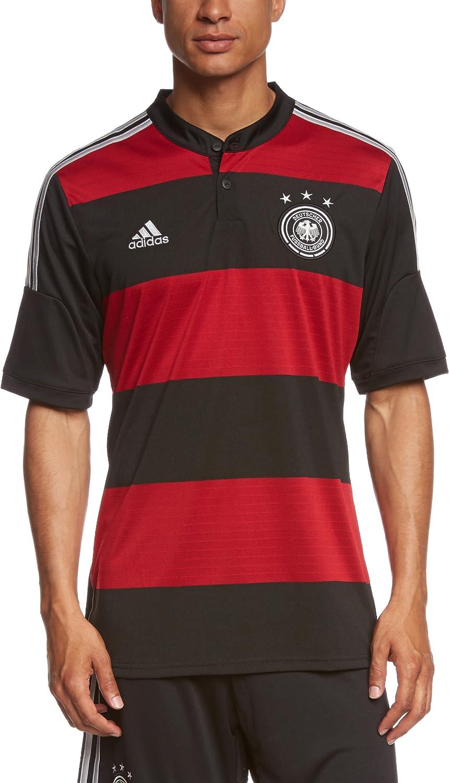 Adidas Herren Trikot Dfb Deutschland Auswarts Black Victory Red
