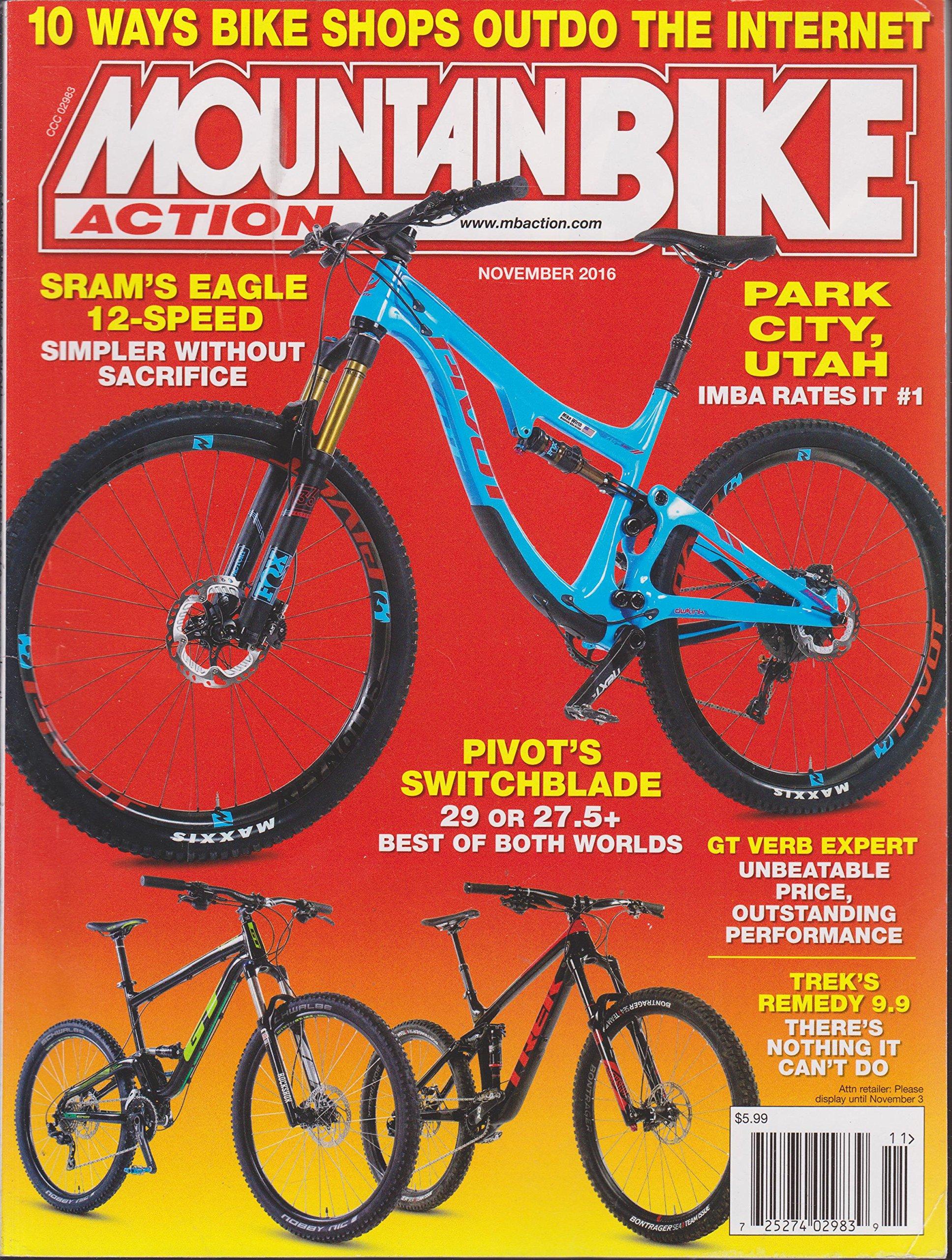 Read Online Mountain Bike Action Magazine November 2016 PDF