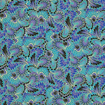 Amazon.com: Timeless Treasures Fabric by the Yard Palazzo Abstract ...