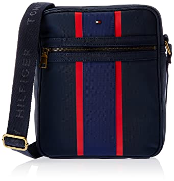 d4467d692a Tommy Hilfiger Canvas Blue Messenger Bag (TH/RID08REP0314): Amazon.in: Bags,  Wallets & Luggage