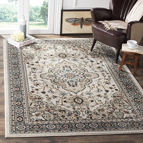 Safavieh Lyndhurst Collection LNH338B Oriental Cream and Beige Area Rug 4 x 6