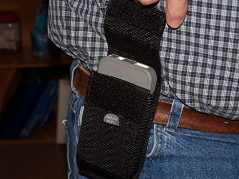 online store d0d9e ebf7f Amazon.com : Droid Razr Maxx HD Cell phone belt holster NO CLIPS TO ...