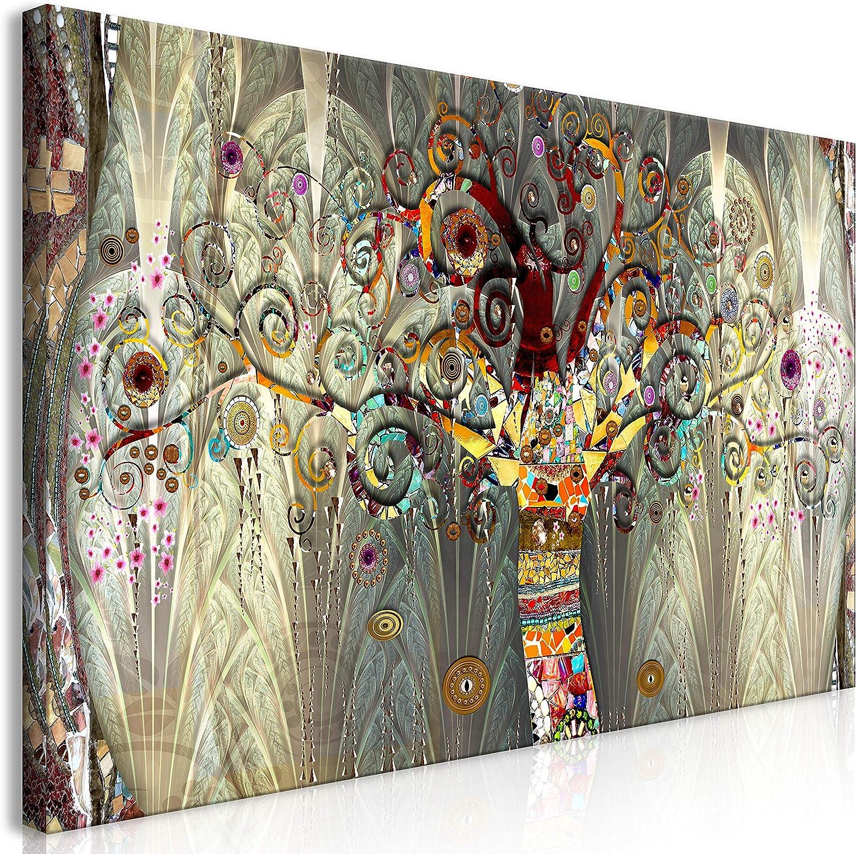 murando Cuadro Mega XXXL Arbol 160x80 cm Cuadro en Lienzo en Tamano XXL Estampado Grande Gigante Imagen para Montar por uno Mismo Decoración De Pared Impresión DIY Gustav Klimt l-A-0005-ak-e