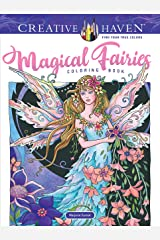 Creative Haven Magical Fairies Coloring Book (Adult Coloring) Paperback
