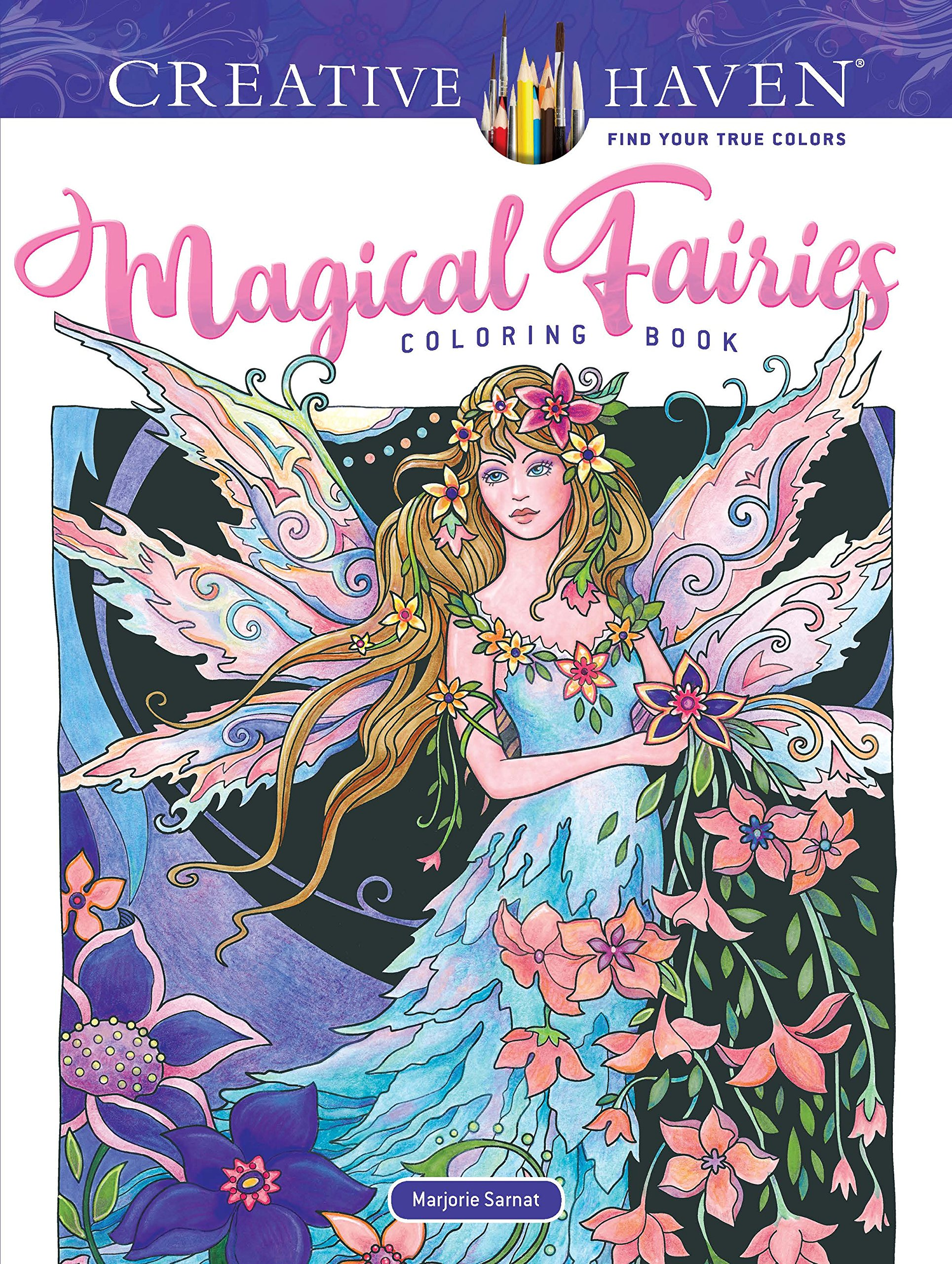 Creative Haven Magical Fairies Coloring Book Adult Coloring Amazon