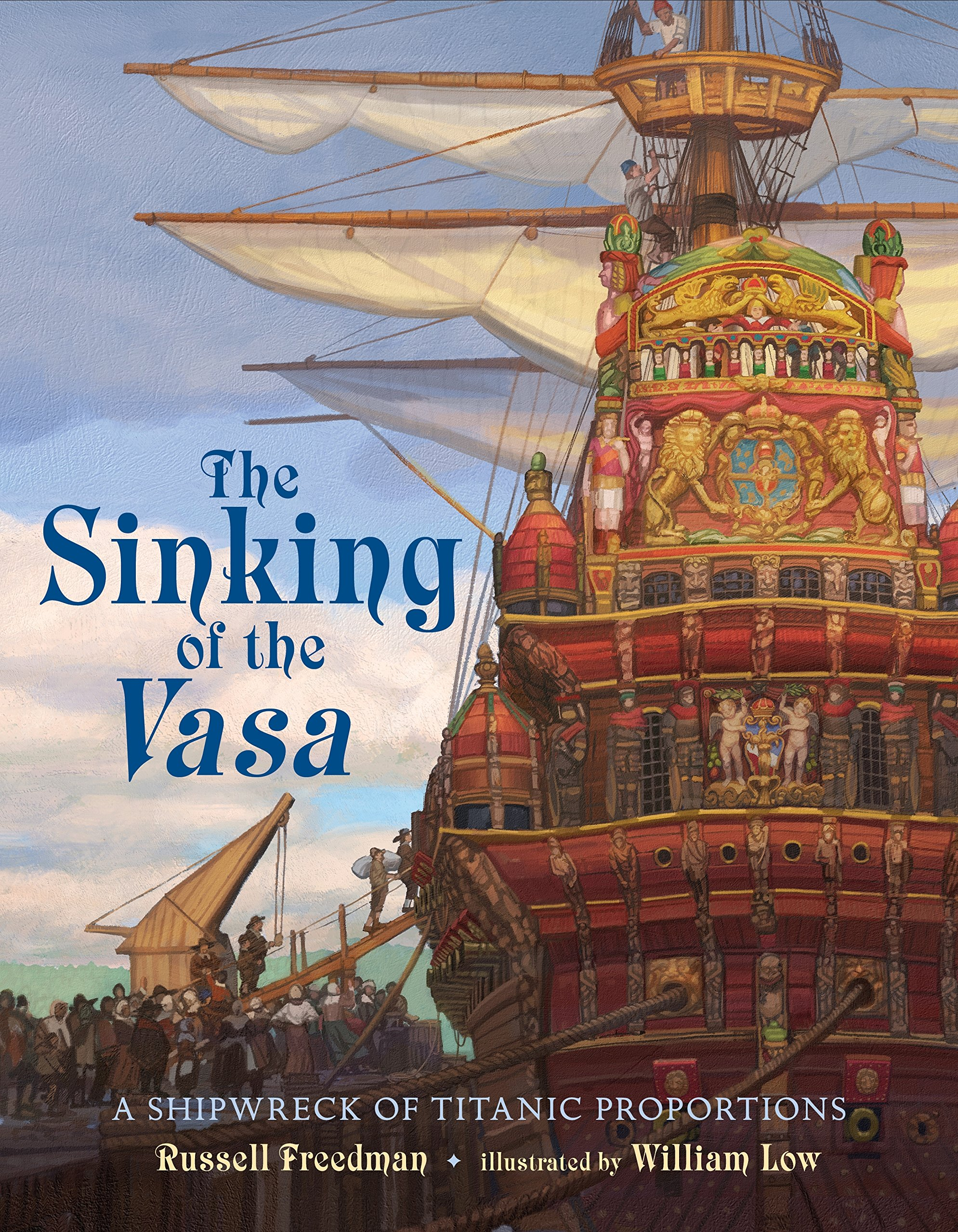 Image result for sinking of the vasa amazon