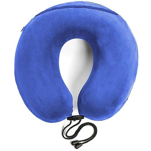 18 opinioni per Travelrest- Cuscino terapeutico per il collo in schiuma memory con rivestimento