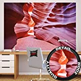 Antelope Canyon FOTOMURALE – Slot Canyon quadro da parete – XXL poster Antelope deserto decorazione da parete America USA Stati Unit i d ' America by GREAT ART (210 x 140 cm)
