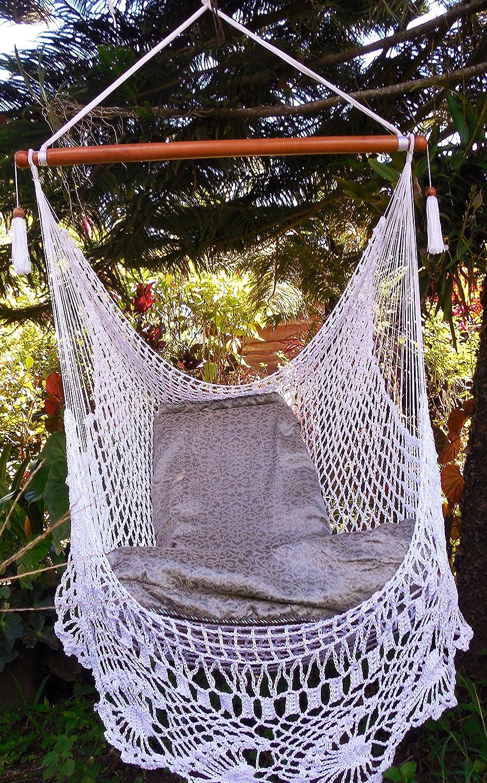 Amazon Wonderful Crochet Hammock Chair Swing 100 Handmade